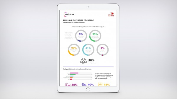 Efma & Finastra: Sales or Customer-focused? (Infographic)