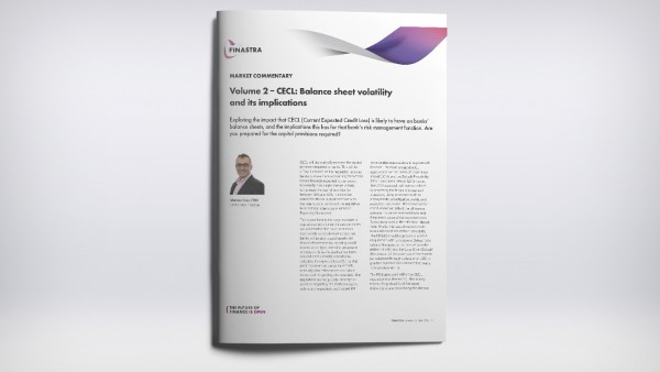 Volume 2 – CECL: Balance sheet volatility and its implications