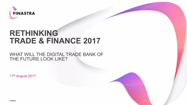 Rethinking trade & finance - What will the digital trade bank of the future look like?
