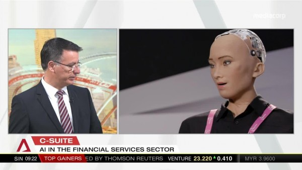 Asia Business First: Martin Häring, CMO at Finastra interviews an AI in financial services