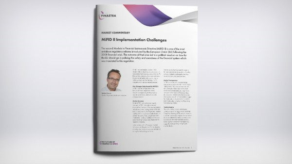 MiFID II Implementation Challenges