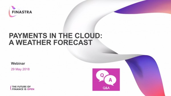 Cloud-Based Payment Solutions - A Weather Forecast