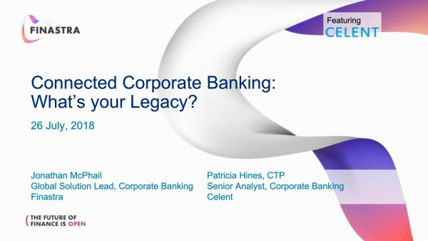 What Will Be Your Corporate Banking Legacy?