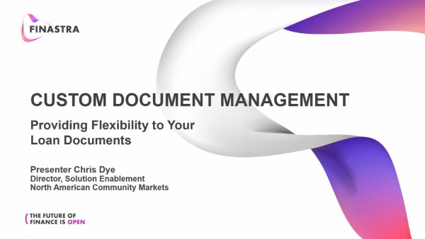 Providing Flexibility to Your Compliance Documents