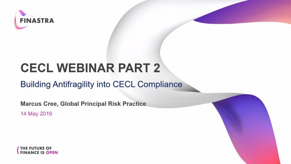 Building Anti-Fragility into CECL Compliance