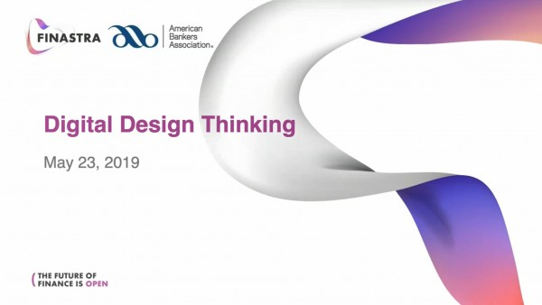 Digital Design Thinking Webinar