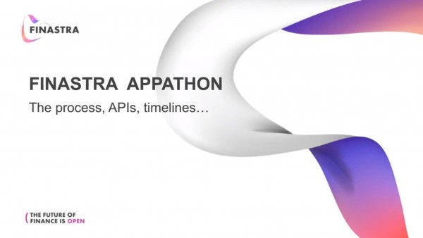 Finastra Appathon – the process, APIs, timelines