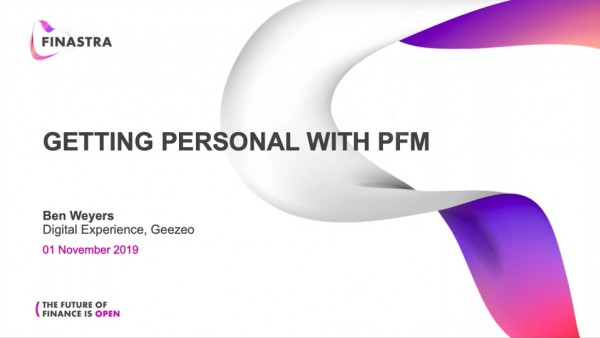 Getting Personal with PFMs
