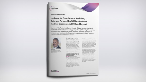 No Room for Complacency: Real-Time, Data and Partnerships Will Revolutionize the User Experience in 2020 and Beyond