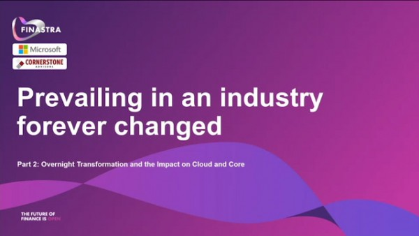 Prevailing in an industry forever changed, Part 2: Overnight transformation and the impact on cloud and core