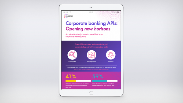 Corporate Banking APIs: Opening New Horizons (Infographic)