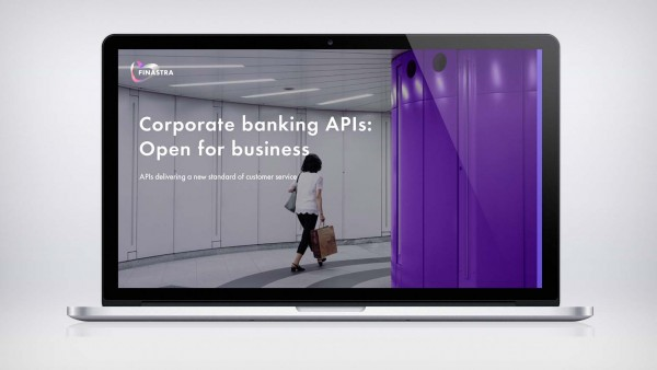 White Paper: Corporate banking APIs - open for business