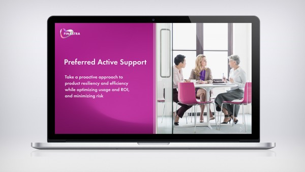 Preferred Active Support cover